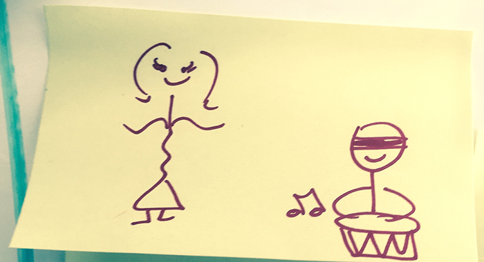 Dummer & Dancer Post-it