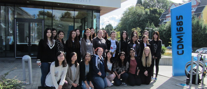 Women in Master of Digital Media C10