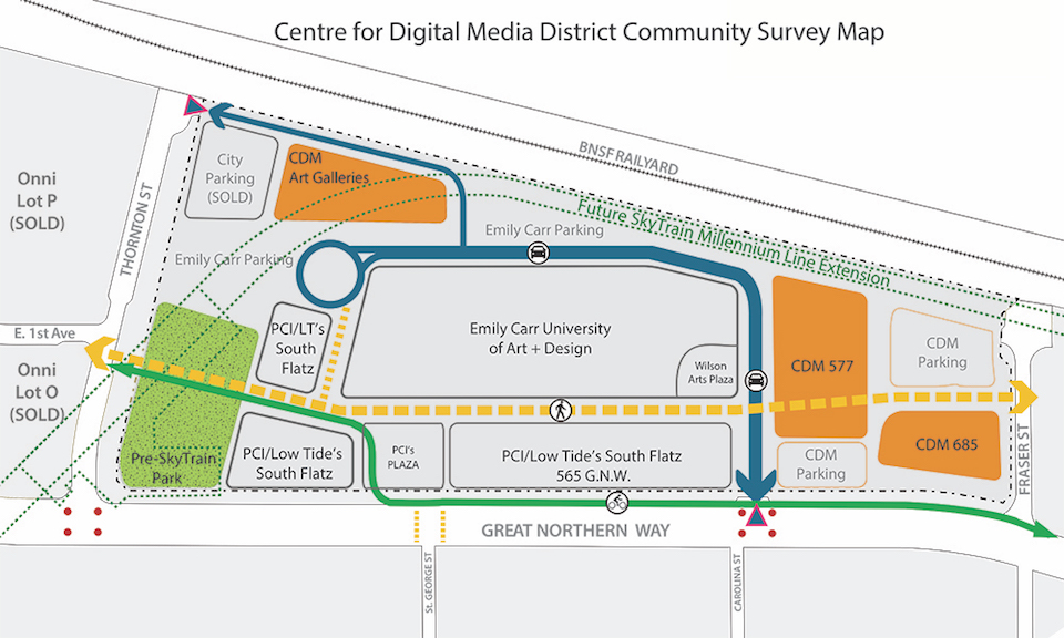 CDM Digital District Map