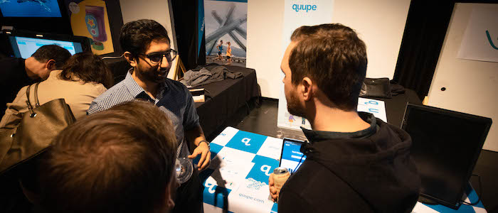 Quupe at Demo Day