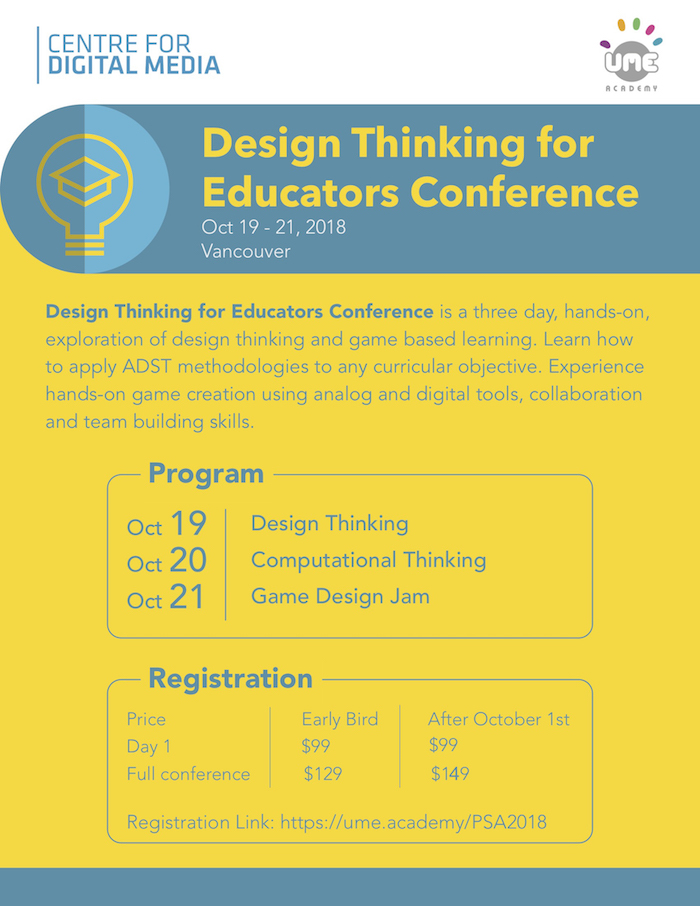 Design Thinking for Educators Conference