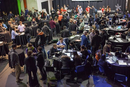 Over 150 participants attended Hacking Health at the Centre for Digital Media