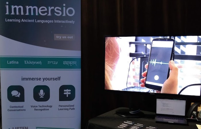 Team Immersio at Demo Day
