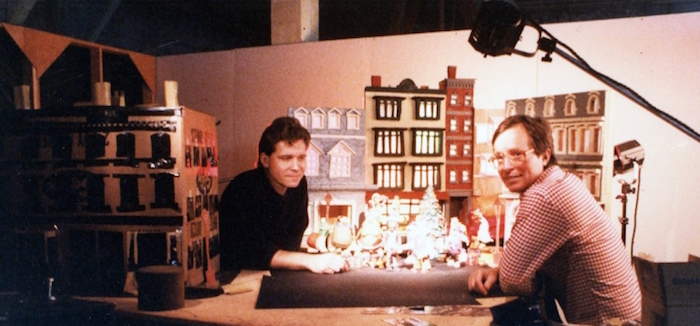 Pre-visualization for a Claymation Christmas