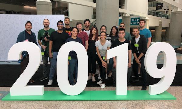 MDM alumni team at SIGGRAPH