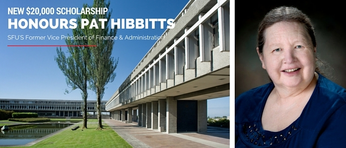 New $20,000 Pat Hibbitts Scholarship