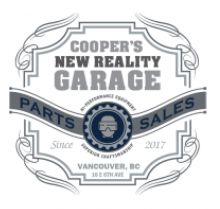 Cooper's New Reality Garage Logo