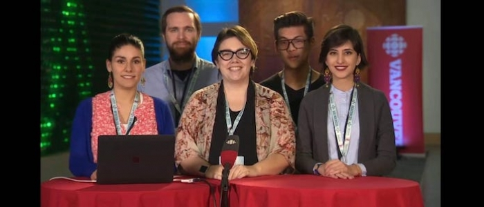 Students Pitch at CBC Hackathon