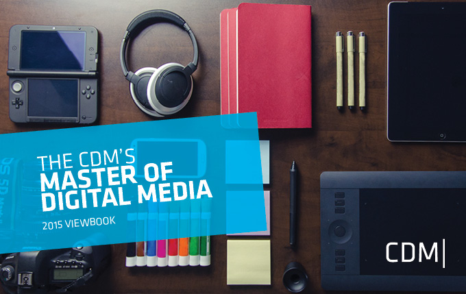Download the Master of Digital Media Viewbook
