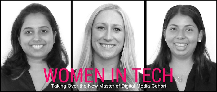 Women in tech taking over the new Master of Digital Media cohort
